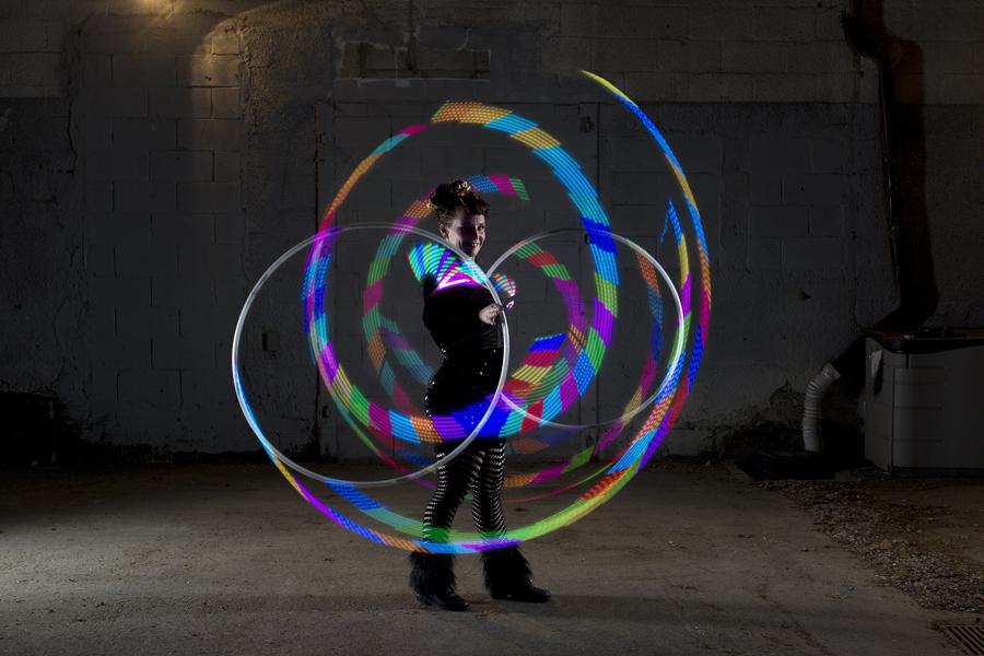 lucy loop glow hoops