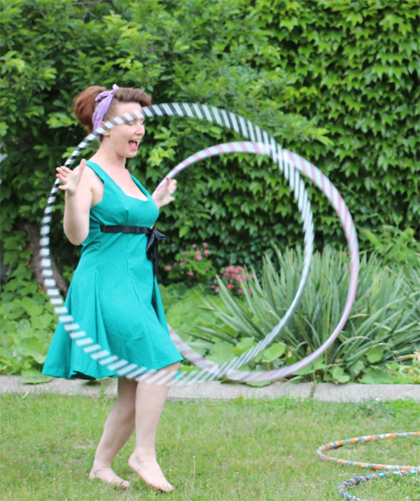 colleen costello hoop dance doubles in the daytime
