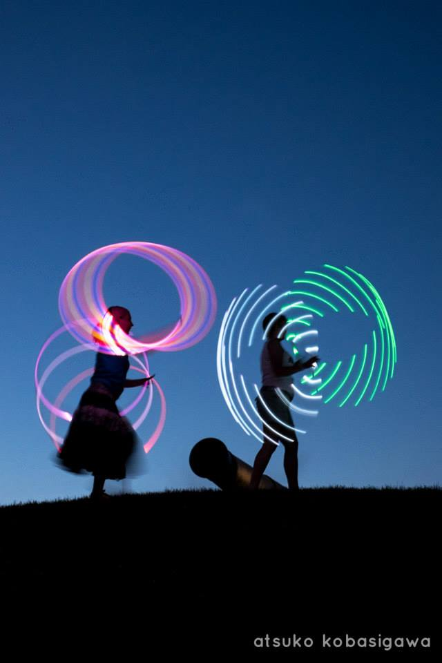 double glow hoop duo hoop you