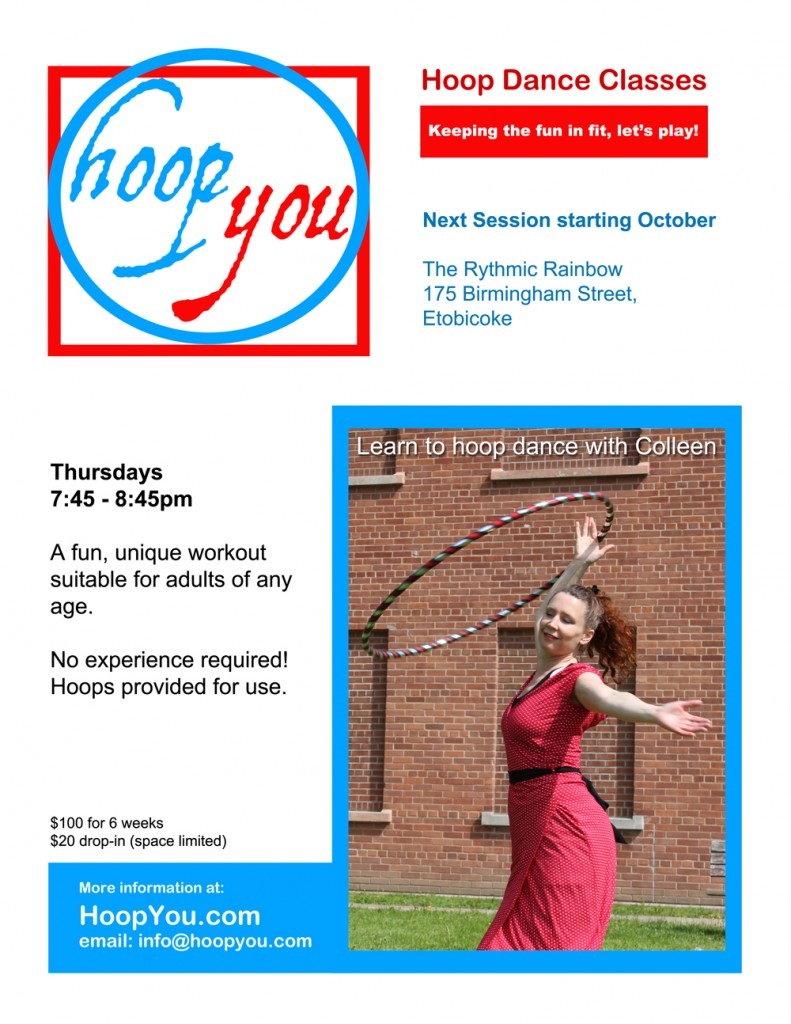 Hoop Dance Class October