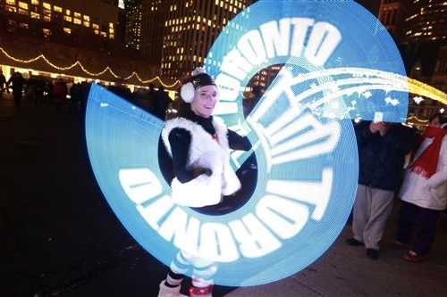 new years visual poi in Toronto