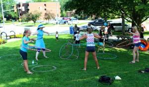 Hoop you fun zone hoop jam in a park