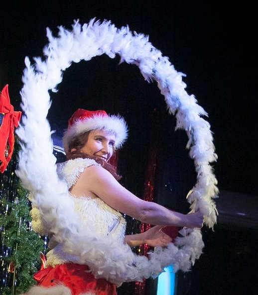 christmas hula hoop parties for corporate events