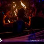 Fire Fans at Pearl Nightclub