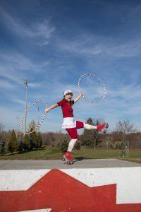Canada 2017 hula hoop roller skates