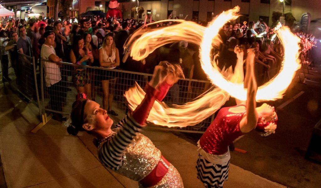 toronto fire performer duet