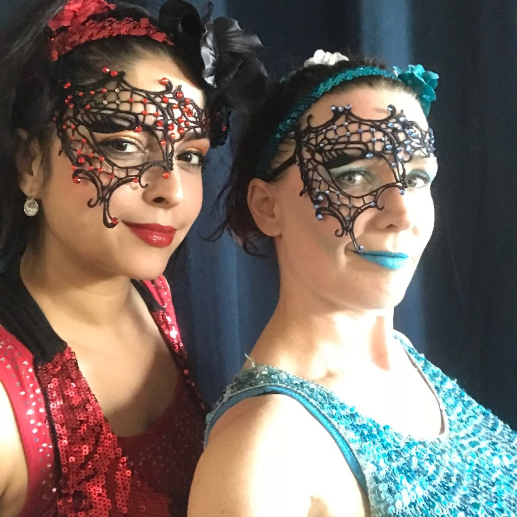 fire and ice costumes with masks